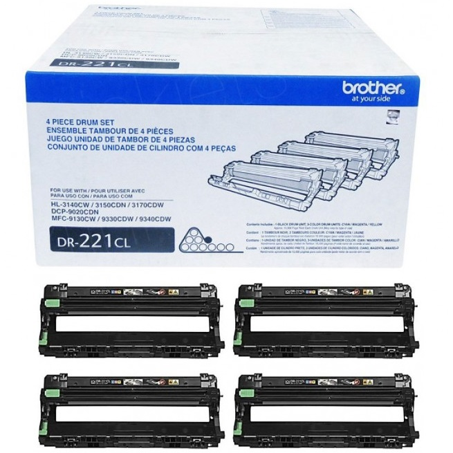 Genuine Brother DR221CL Drum Unit