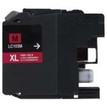 Compatible Brother LC103M Magenta Ink Cartridge