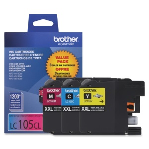 LC1053PKS Ink Cartridge - Brother Genuine OEM (Bundle Pack)
