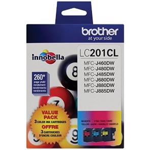 LC2013PKS Ink Cartridge - Brother Genuine OEM (Bundle Pack)