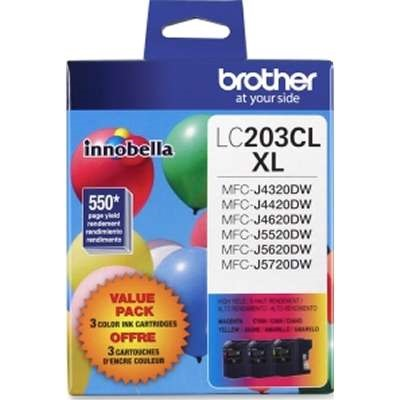 LC2033PKS Ink Cartridge - Brother Genuine OEM (Bundle Pack)