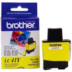 LC41Y Ink Cartridge - Brother Genuine OEM (Yellow)
