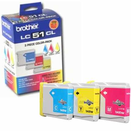 Genuine Brother LC513PKS Ink Cartridges