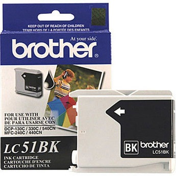 Genuine Brother LC51BK Black Ink Cartridge