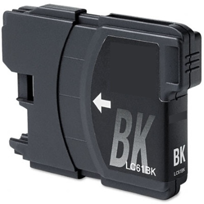 LC61BK - Compatible Brother Black Ink Cartridge