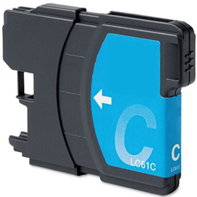 LC61C - Compatible Brother Cyan Ink Cartridge