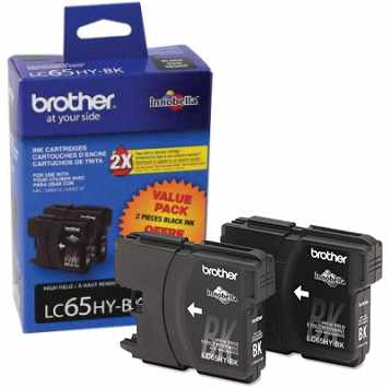 Genuine Brother LC652PKS Black Ink Cartridges