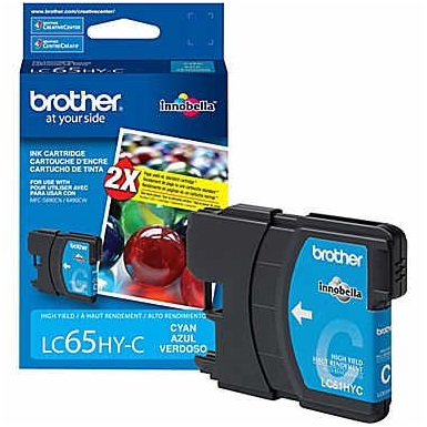 LC65C Ink Cartridge - Brother Genuine OEM (Cyan)