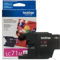 LC71M Ink Cartridge - Brother Genuine OEM (Magenta)