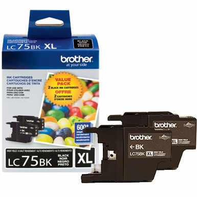 LC752PKS Ink Cartridge - Brother Genuine OEM (Multipack)