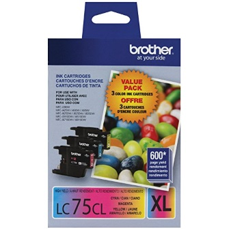LC753PKS Ink Cartridge - Brother Genuine OEM (Bundle Pack)
