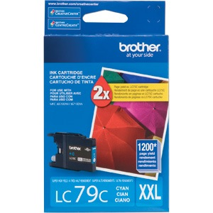 Genuine Brother LC79C Cyan Ink Cartridge