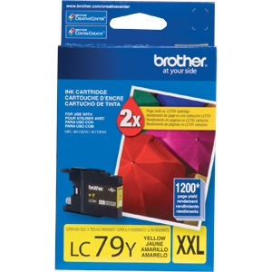 Genuine Brother LC79Y Yellow Ink Cartridge