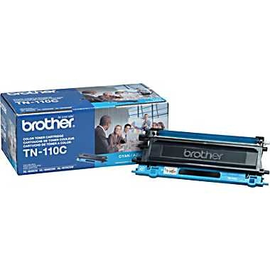 TN110C Toner Cartridge - Brother Genuine OEM (Cyan)