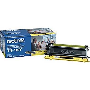TN110Y Toner Cartridge - Brother Genuine OEM (Yellow)