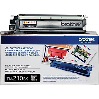 TN210BK Toner Cartridge - Brother Genuine OEM (Black)