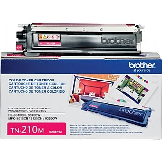 TN210M Toner Cartridge - Brother Genuine OEM (Magenta)