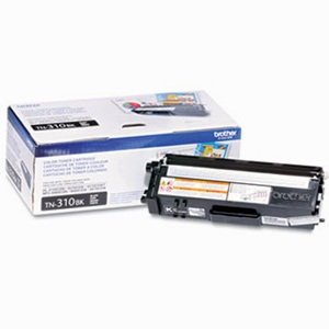 TN310BK Toner Cartridge - Brother Genuine OEM (Black)