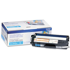 TN310C Toner Cartridge - Brother Genuine OEM (Cyan)