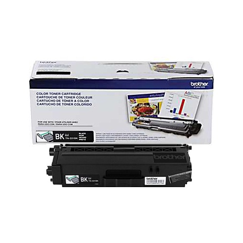 TN331K Toner Cartridge - Brother Genuine OEM (Black)