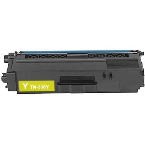 TN336Y Toner Cartridge - Brother Compatible (Yellow)