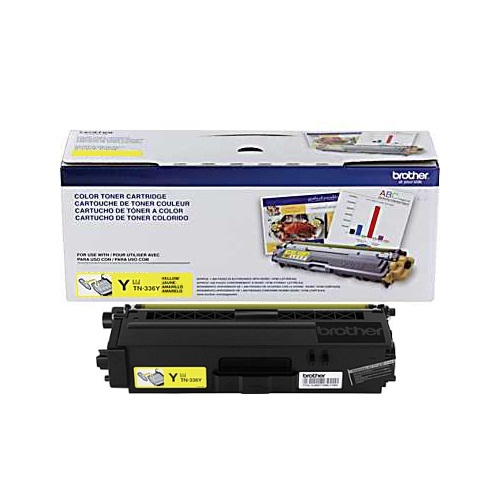 TN336Y Toner Cartridge - Brother Genuine OEM (Yellow)