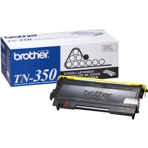 Genuine Brother TN350 Black Toner Cartridge