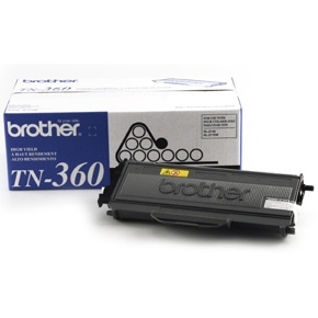 TN360 Toner Cartridge - Brother Genuine OEM (Black)