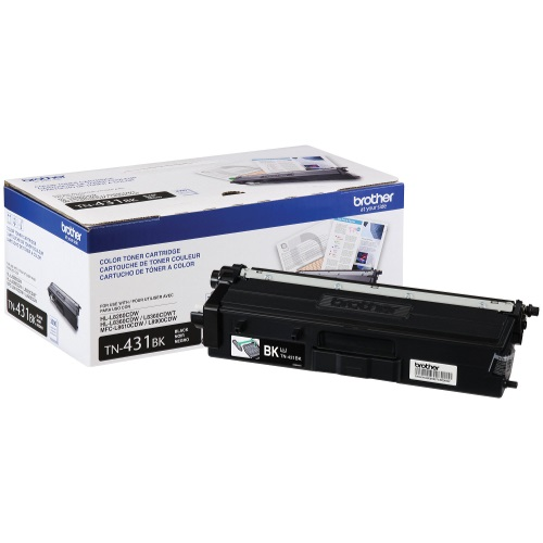 TN431BK Toner Cartridge - Brother Genuine OEM (Black)