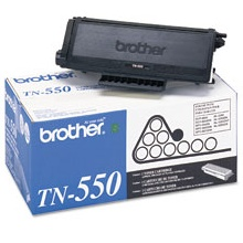 TN550 Toner Cartridge - Brother Genuine OEM (Black)