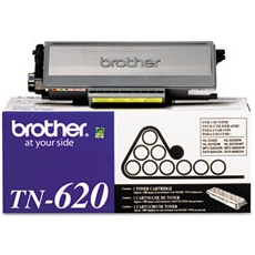 TN620 Toner Cartridge - Brother Genuine OEM (Black)
