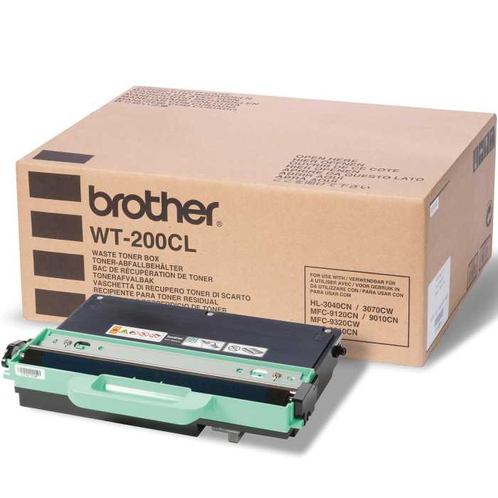 WT200CL Waste Toner Container - Brother Genuine OEM