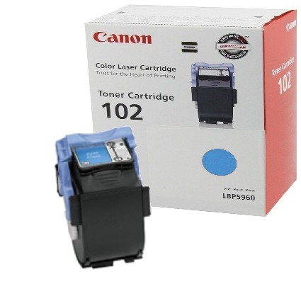 Genuine Canon 9644A006AA Cyan Toner Cartridge