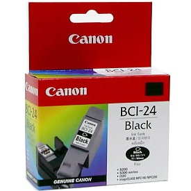 Genuine Canon BCI-24BK Black Ink Cartridge