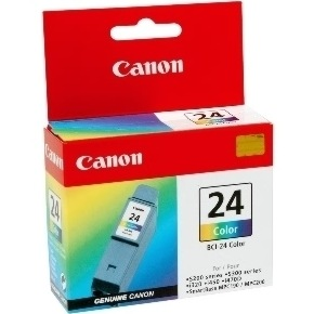 BCI-24C Ink Cartridge - Canon Genuine OEM (Color)