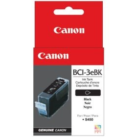 Genuine Canon BCI-3eBK Black Ink Cartridge