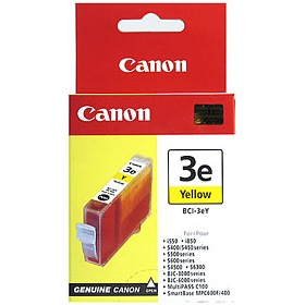Genuine Canon BCI-3eY Yellow Ink Cartridge