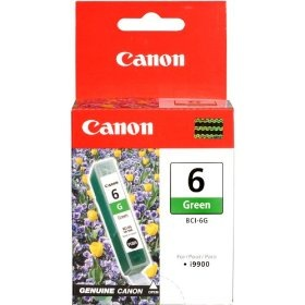 Genuine Canon BCI-6G Green Ink Cartridge