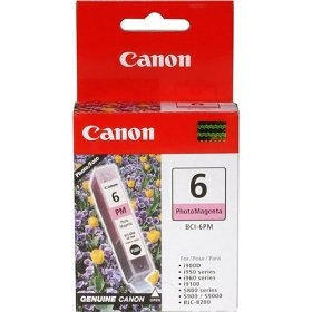 BCI-6PM Ink Cartridge - Canon Genuine OEM (Photo Magenta)