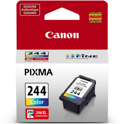 CL-244 Ink Cartridge - Canon Genuine OEM (Color)