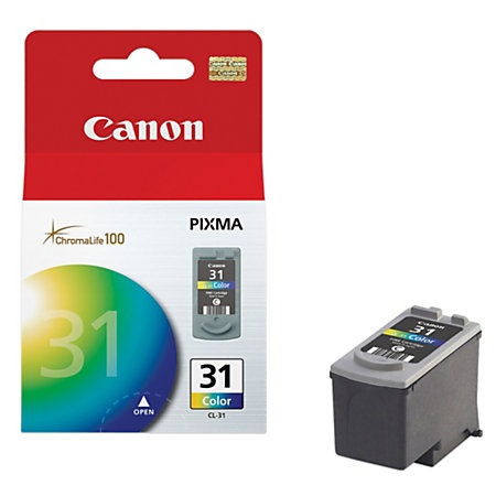Genuine Canon CL-31 Color Ink Cartridge