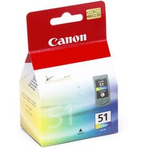 Genuine Canon CL-51 Color Ink Cartridge