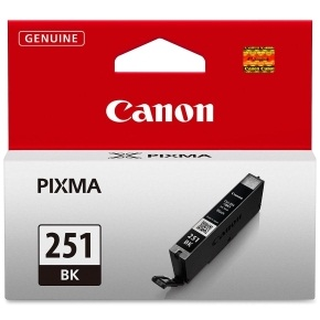 Genuine Canon CLI-251BK Black Ink Cartridge
