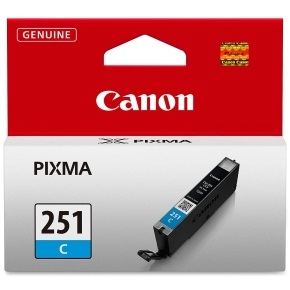 Genuine Canon CLI-251C Cyan Ink Cartridge