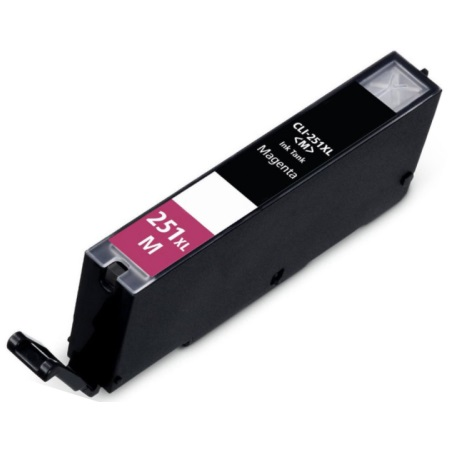 CLI-251M XL Ink Cartridge - Canon Compatible (Magenta)