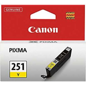 Genuine Canon CLI-251Y Yellow Ink Cartridge