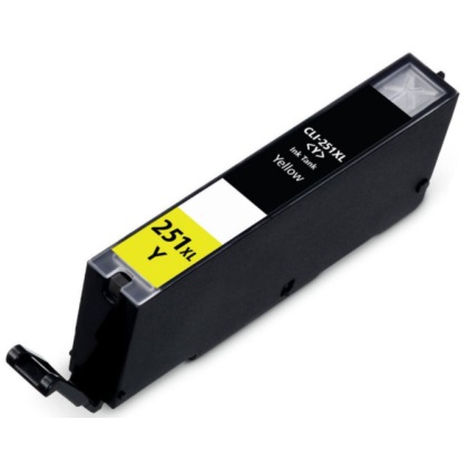 CLI-251Y XL Ink Cartridge - Canon Compatible (Yellow)