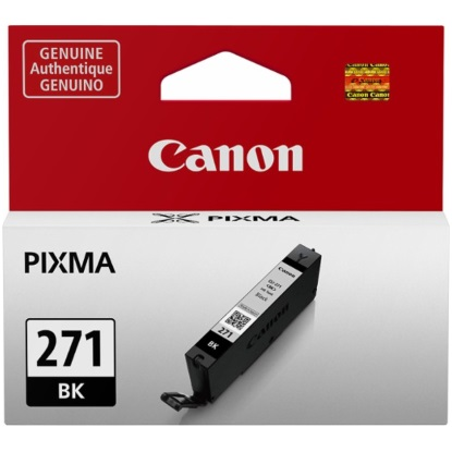 CLI-271 BK Ink Cartridge - Canon Genuine OEM (Black)