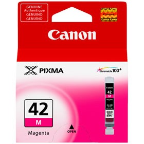 CLI-42M Ink Cartridge - Canon Genuine OEM (Magenta)