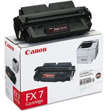 Genuine Canon FX-7 Black Toner Cartridge